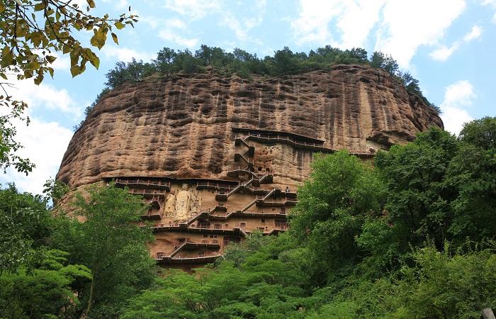 天水麦积山石窟——中国四大石窟之一