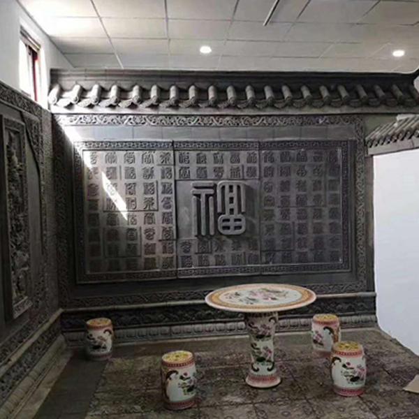仿古砖雕中式挂件_古建砖雕装饰配件_砖雕图片_砖雕效果图