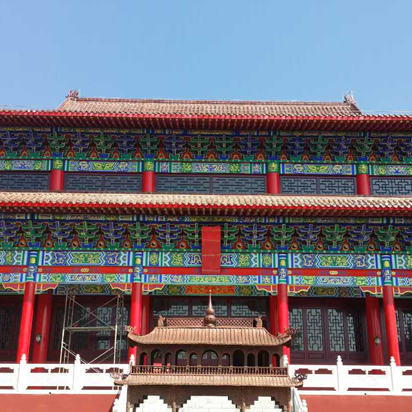 北京万藤文化艺术古建彩画