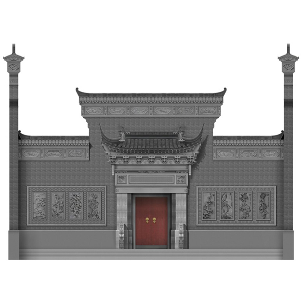 别墅仿古门楼_古建门楼尺寸_门楼价格按平方计算--网店展示-古建中国