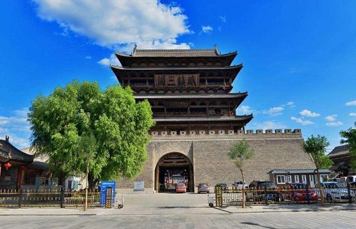 代县边靖楼——中国最大的木质结构鼓楼