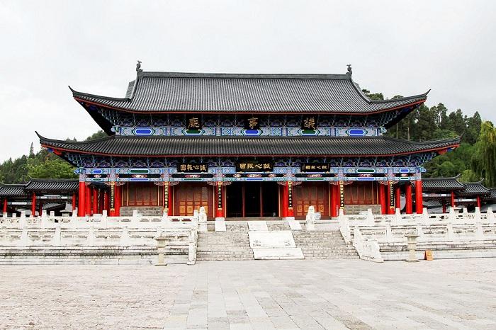 丽江木府·议事厅