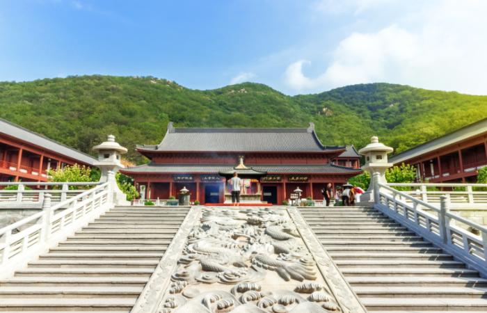 中国寺院建筑在各个朝代的发展变化