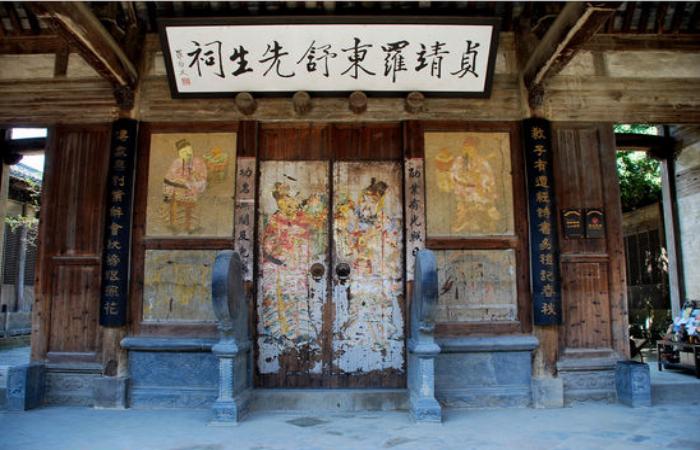 """黄山古建筑罗东舒祠——被誉为""""江南第一名祠"""""""