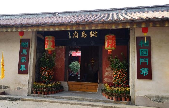 解说潮州许驸马府的建筑结构特点