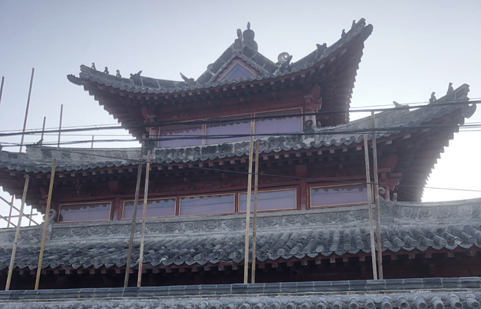 泰安市岱岳区马庄镇西界清真西寺修缮