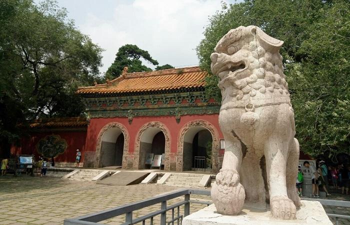 沈阳清福陵 清朝第一座被命名的皇陵