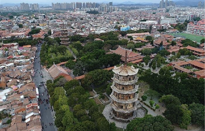 泉州东西塔——中国石塔之王