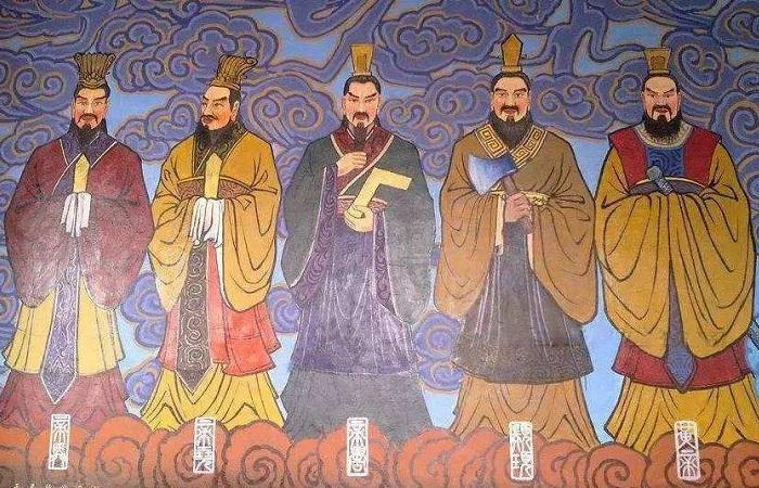 传说中的三皇五帝分别是谁?