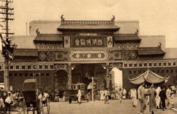 81年前的杭州西湖展览会,掏空省库参展人数2000万!