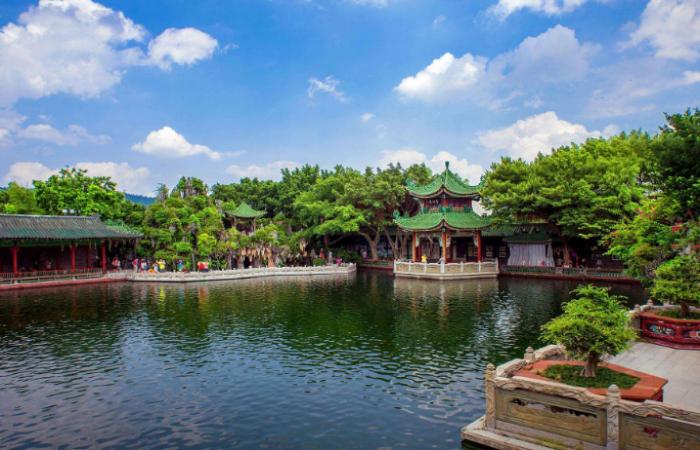 廣東寶墨園——嶺南園林建筑文化