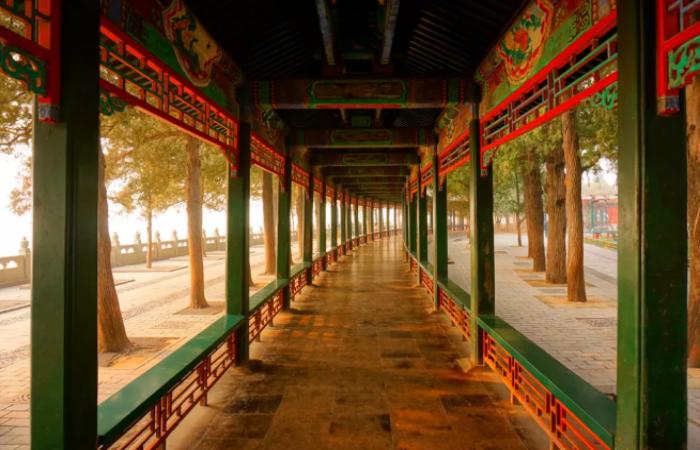 中国古建筑对于夏天通风防晒有什么设计?