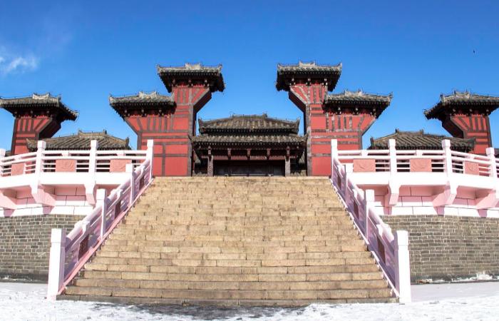 河北邯郸铜雀台:品三国故事,看古代台式建筑!