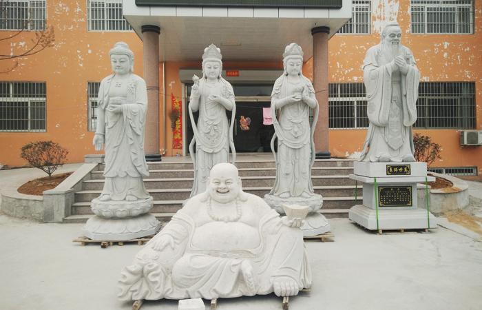 儒风石业-万佛殿案例分享