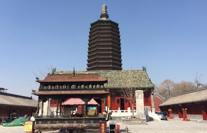 天寧寺塔——北京現存最早的佛塔