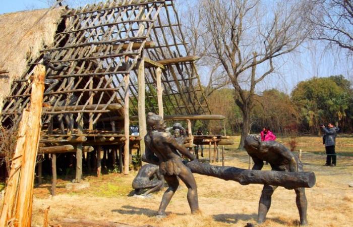 宁波干栏式建筑——古代建筑遗址