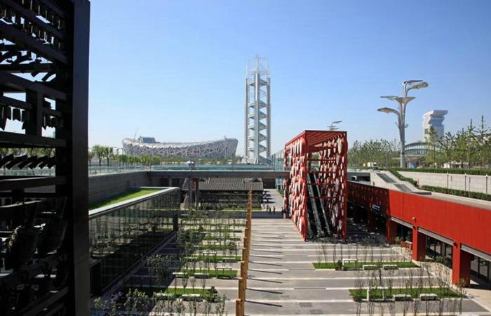 建筑大师崔恺设计作品-北京奥林匹克公园3号院
