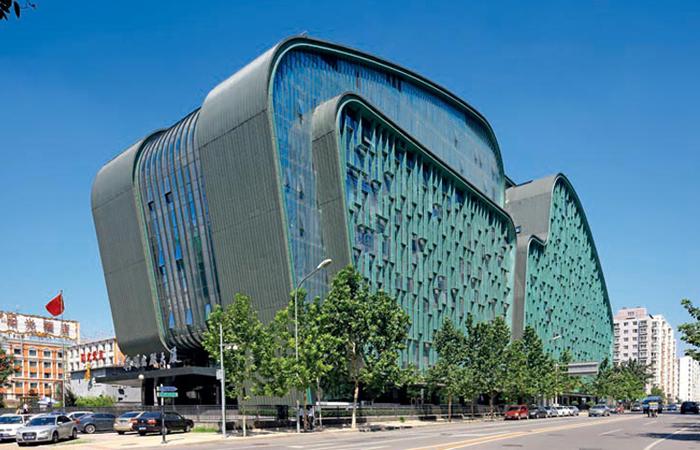建筑大师崔恺设计作品-北京数字出版信息中心