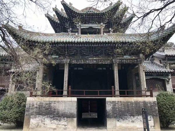 聊城山陕会馆古戏台