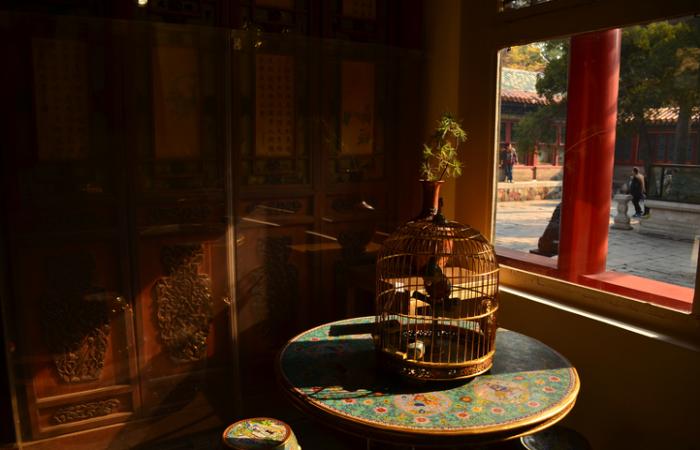 中国传统建筑室内的布局与空间结构