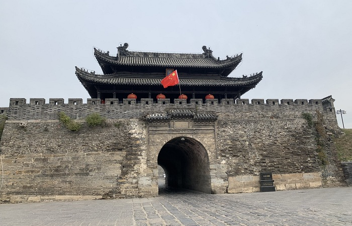 """安徽壽縣古城墻,為何有""""鐵打的壽州城""""之說?"""