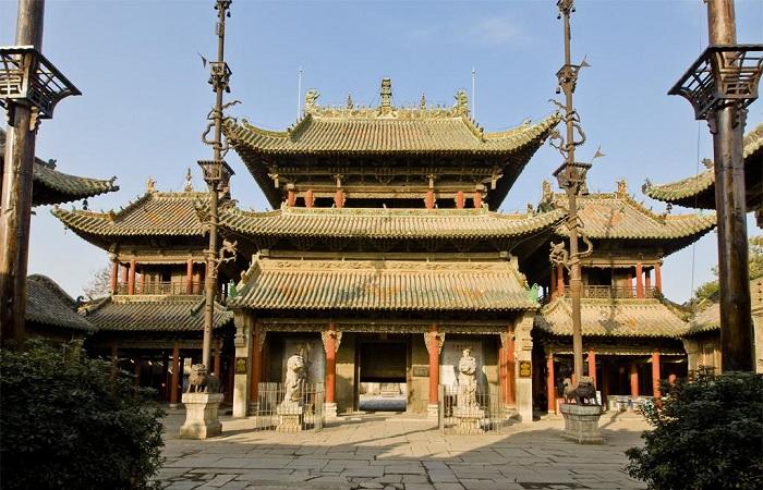 """社旗山陕会馆被誉为""""中国第一会馆"""""""