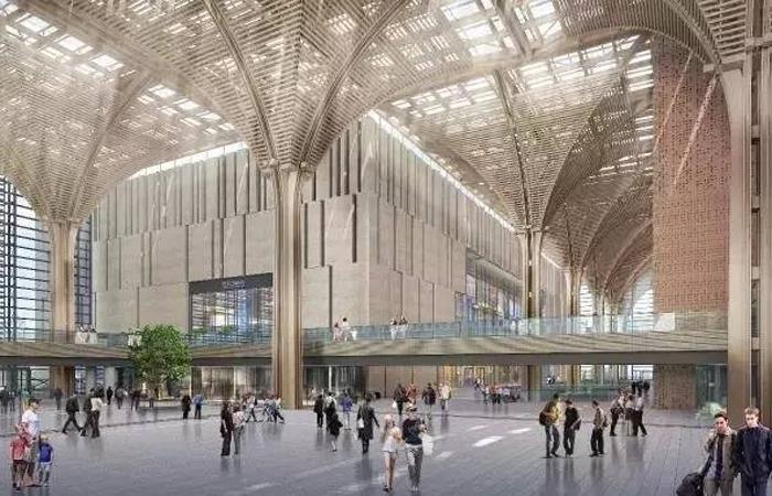 建筑大师刘景樑设计作品-滨海文化长廊