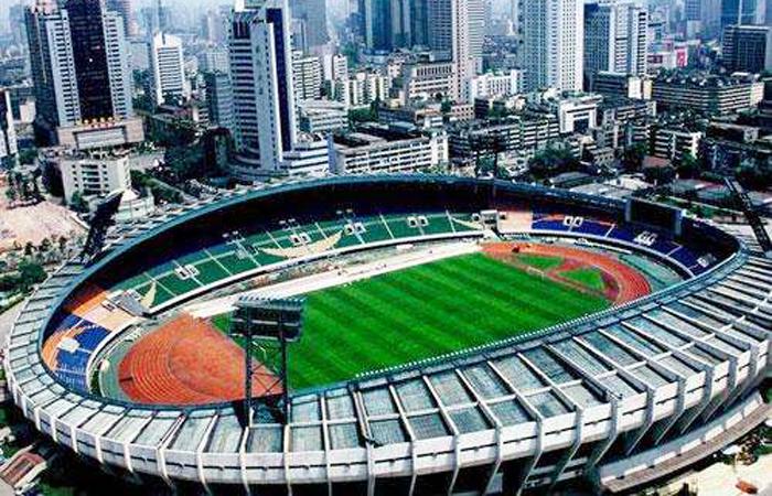 建筑大师黎佗芬设计作品-成都市体育场