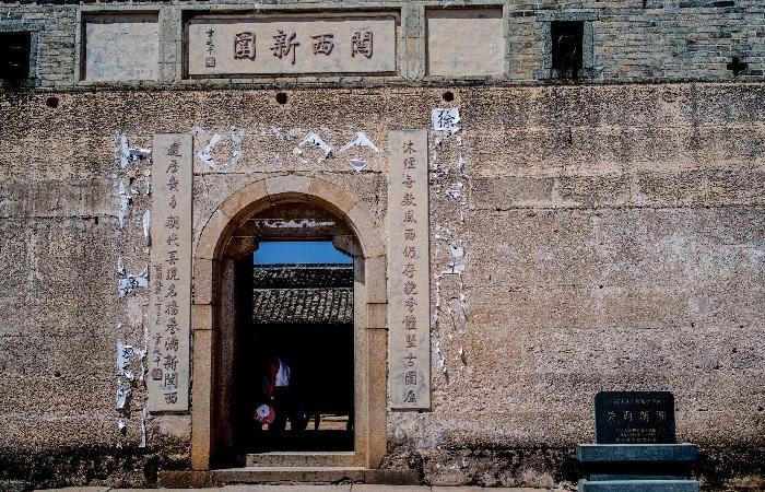 """关西新围被誉为""""散落在民间的皇宫"""""""