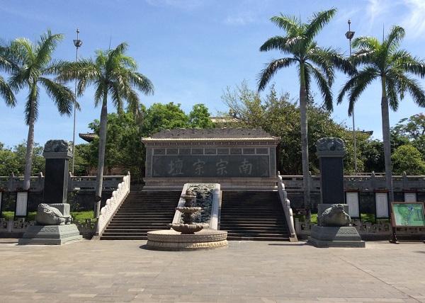 海南玉蟾宫影壁