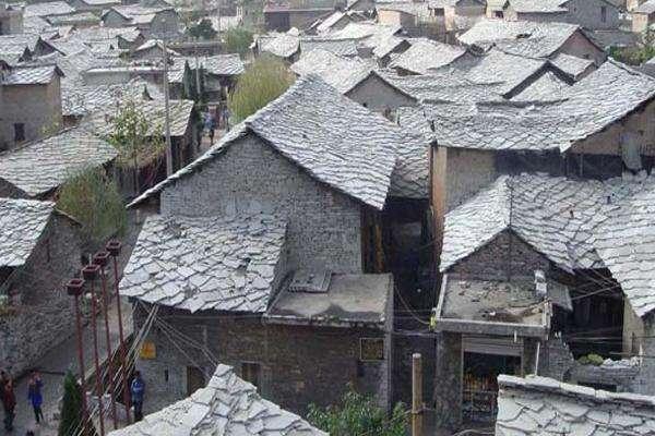 布依族民居建筑·石板房
