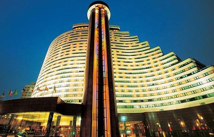 建筑大师汪大绥设计作品-上海华亭宾馆