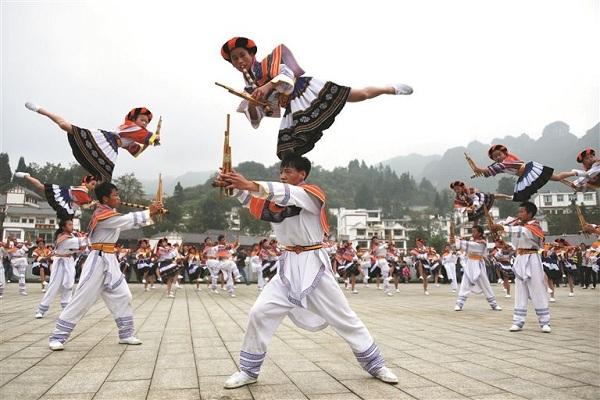 芦笙舞·滚山珠