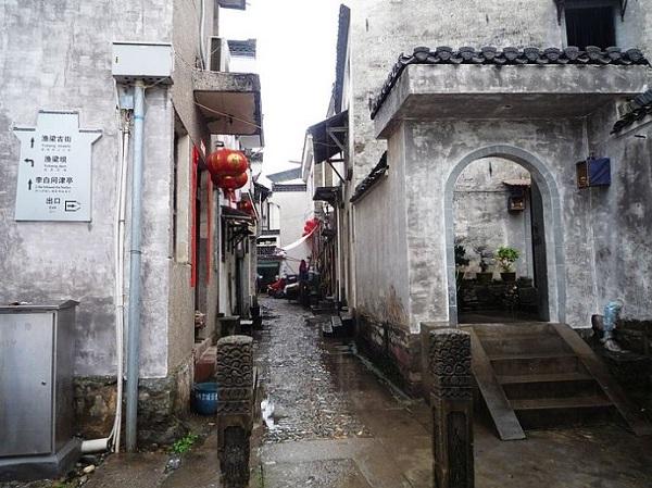 徽州古城渔梁街