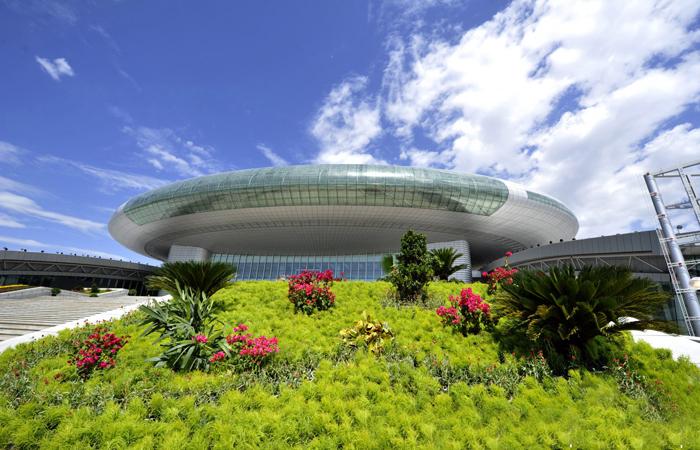 建筑大师孙国城主持设计-自治区国际博览中心
