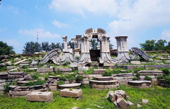 文物数字化:圆明园联合北京大学对远瀛观、大水法遗址数字化存档