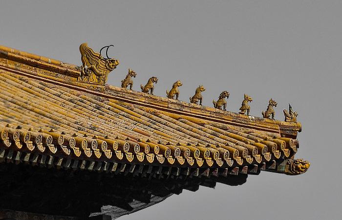故宫的屋脊兽都代表什么风水寓意
