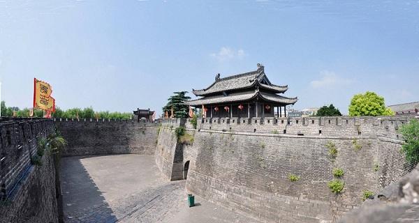 寿县古城墙
