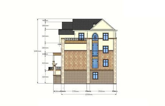 吴安生设计作品——别墅外观改造