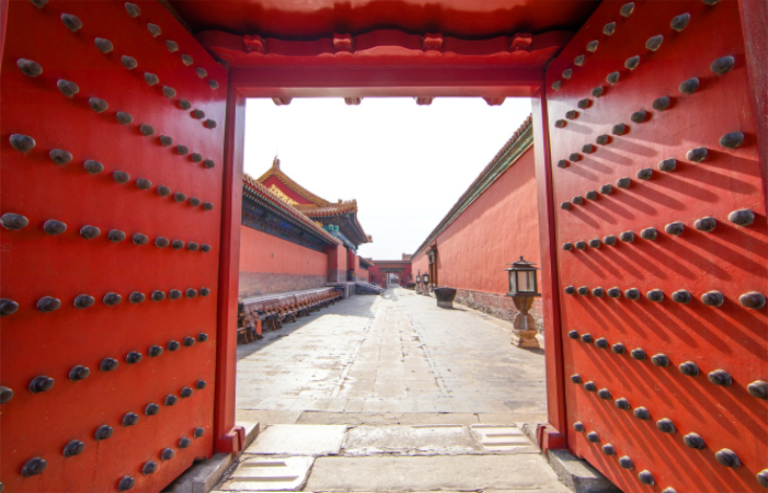中国古建筑门上的构件有哪些?