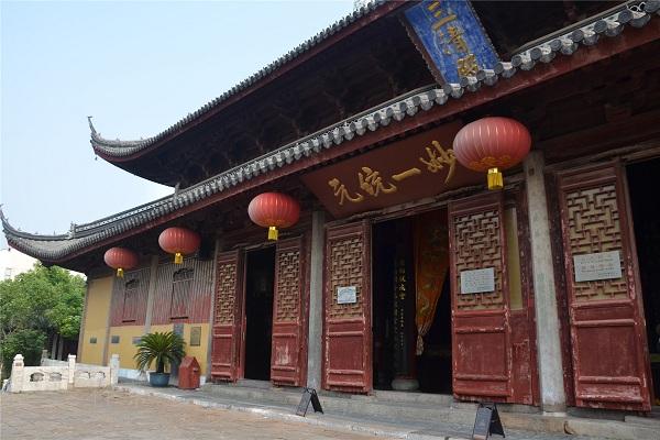 苏州玄妙观三清殿