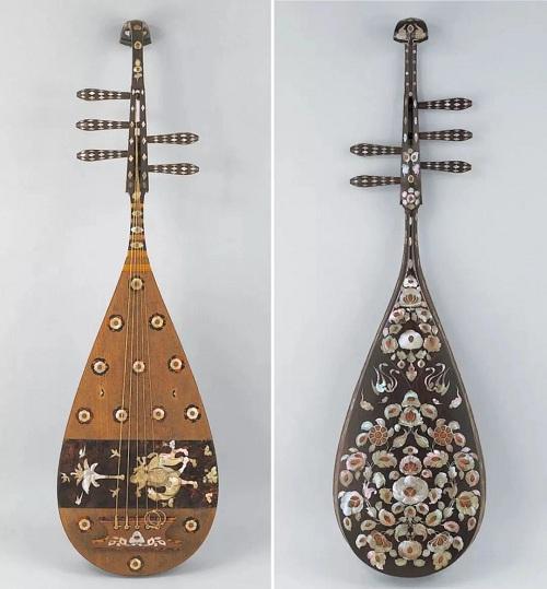 古代乐器·琵琶