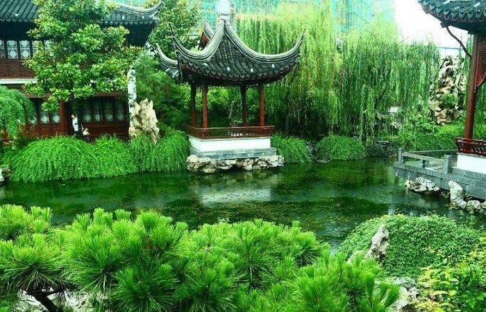 古建筑风水文化 花草树木的风水用途