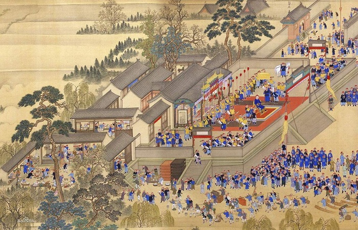 《康熙南巡图》第六卷散佚百年后将首次公开展出