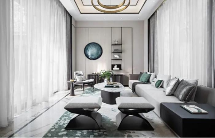 336㎡三层别墅中式风——中国人的豪宅