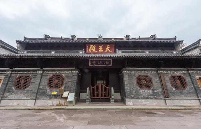 宁波七塔寺——浙东佛教四大丛林之一