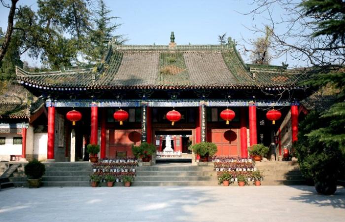 陕西古建筑岐山周公庙的建筑特色