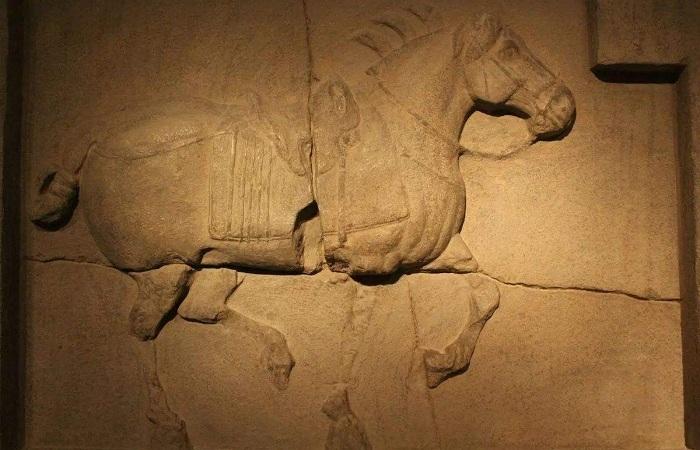 昭陵六骏是哪个朝代的浮雕石刻