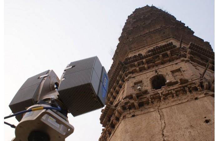 宋代建筑五花寺塔