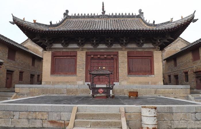 陵川龙岩寺龙殿——金代建筑遗构